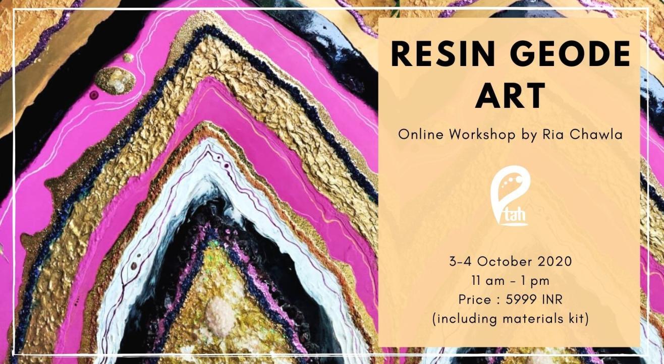 Resin Geode Art : Online Workshop
