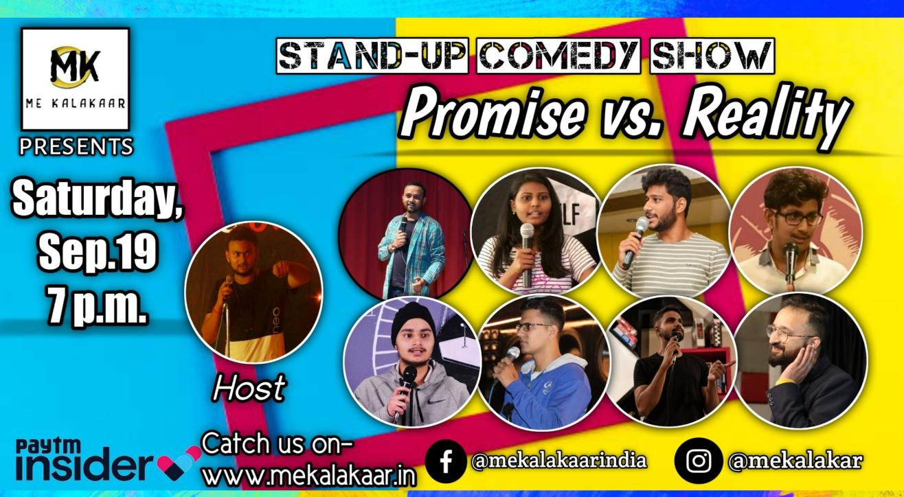 Me Kalakaar Fresh Jokes Stand Up Comedy Open Mic Saturday