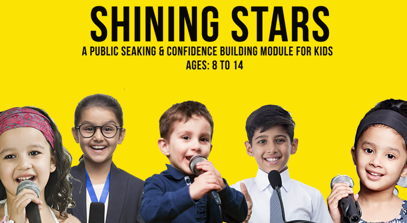 Shining Stars - Public Speaking Confidence Module for Kids