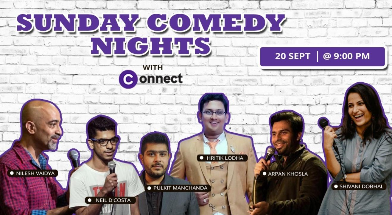 Sunday Comedy Nights with Connect