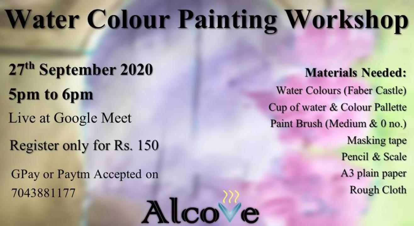Water Colour Painting Workshop