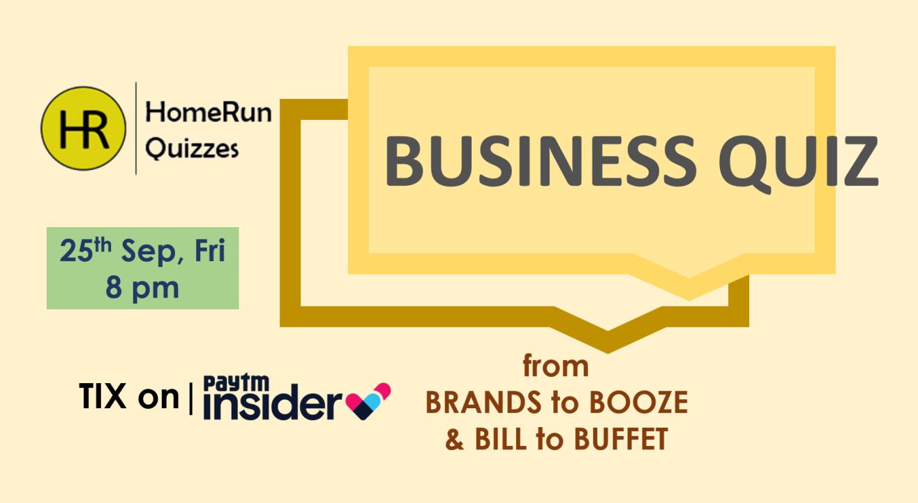 Business Quiz by HomeRun Quizzes