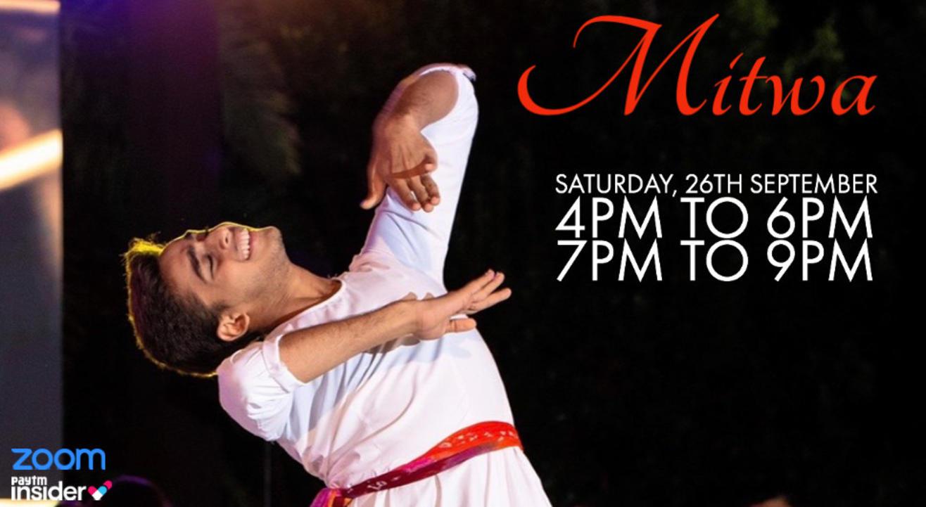 Mitwa with Jainil Mehta   4PM to 6PM