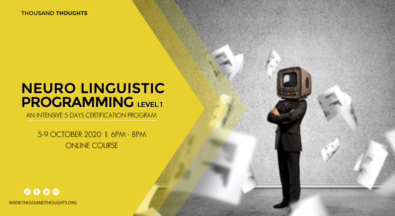 Neuro Linguistic Programming - Level 1 Course