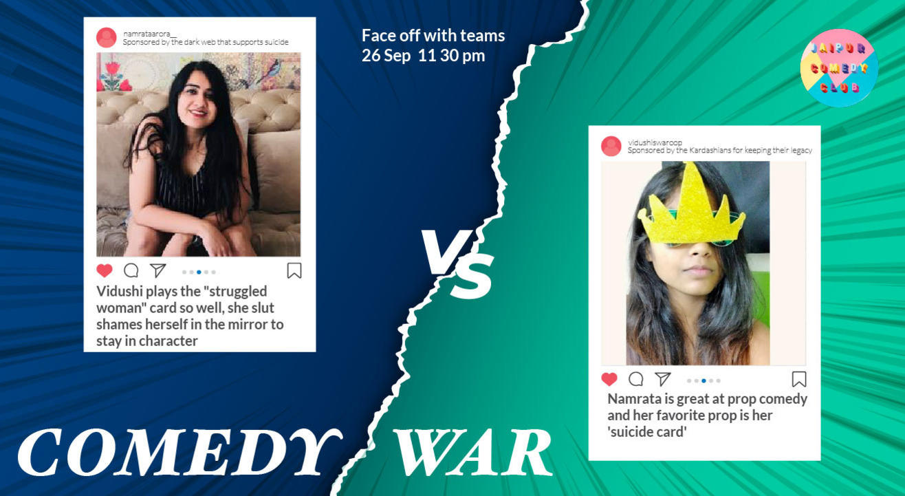 Comedy War