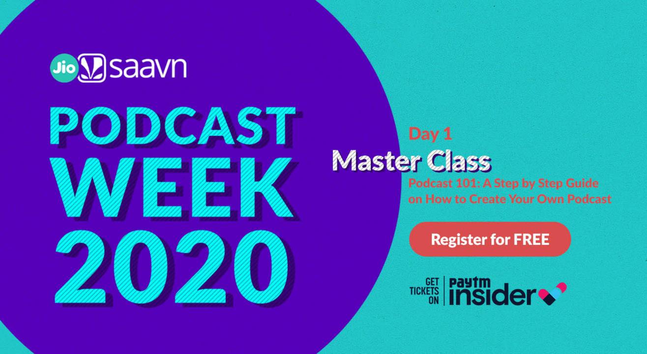 JioSaavn Podcast Week 2020   Day 1