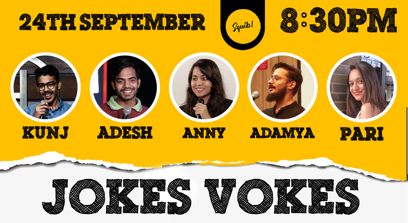 JOKES VOKES   A Stand-up Comedy Open Mic