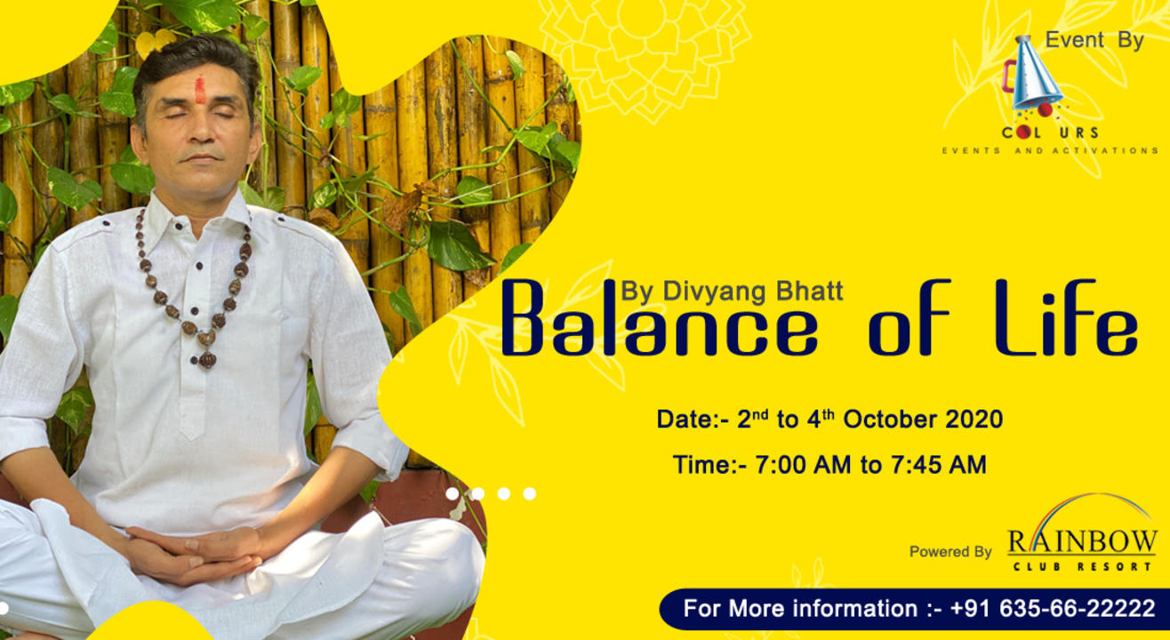 THE BALANCE OF LIFE - MEDITATION