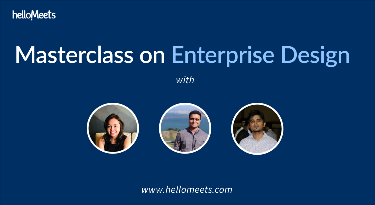 Masterclass on Enterprise Design