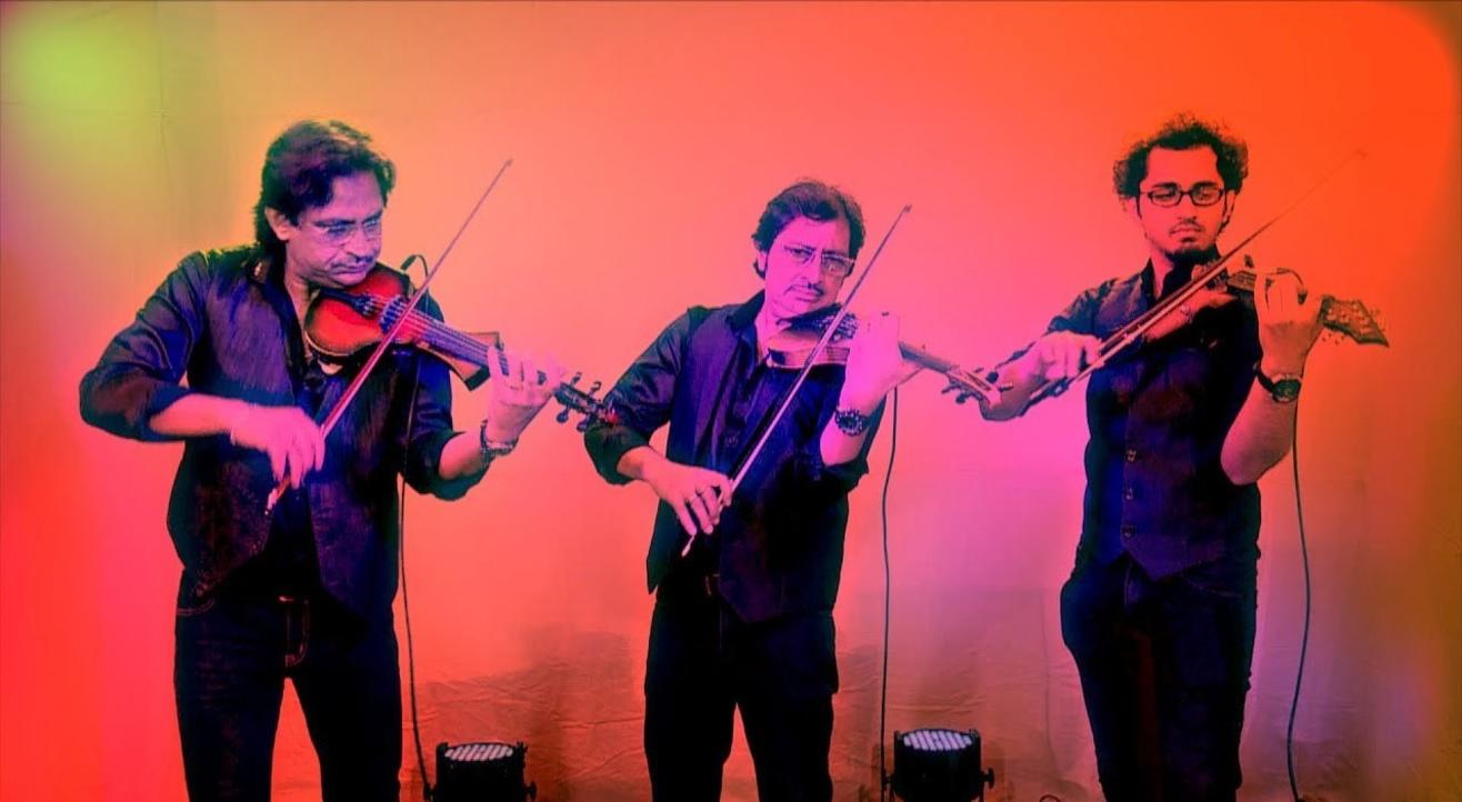 Aagomoni, a musical soiree by The Violin Brothers featuring Rohan Roy