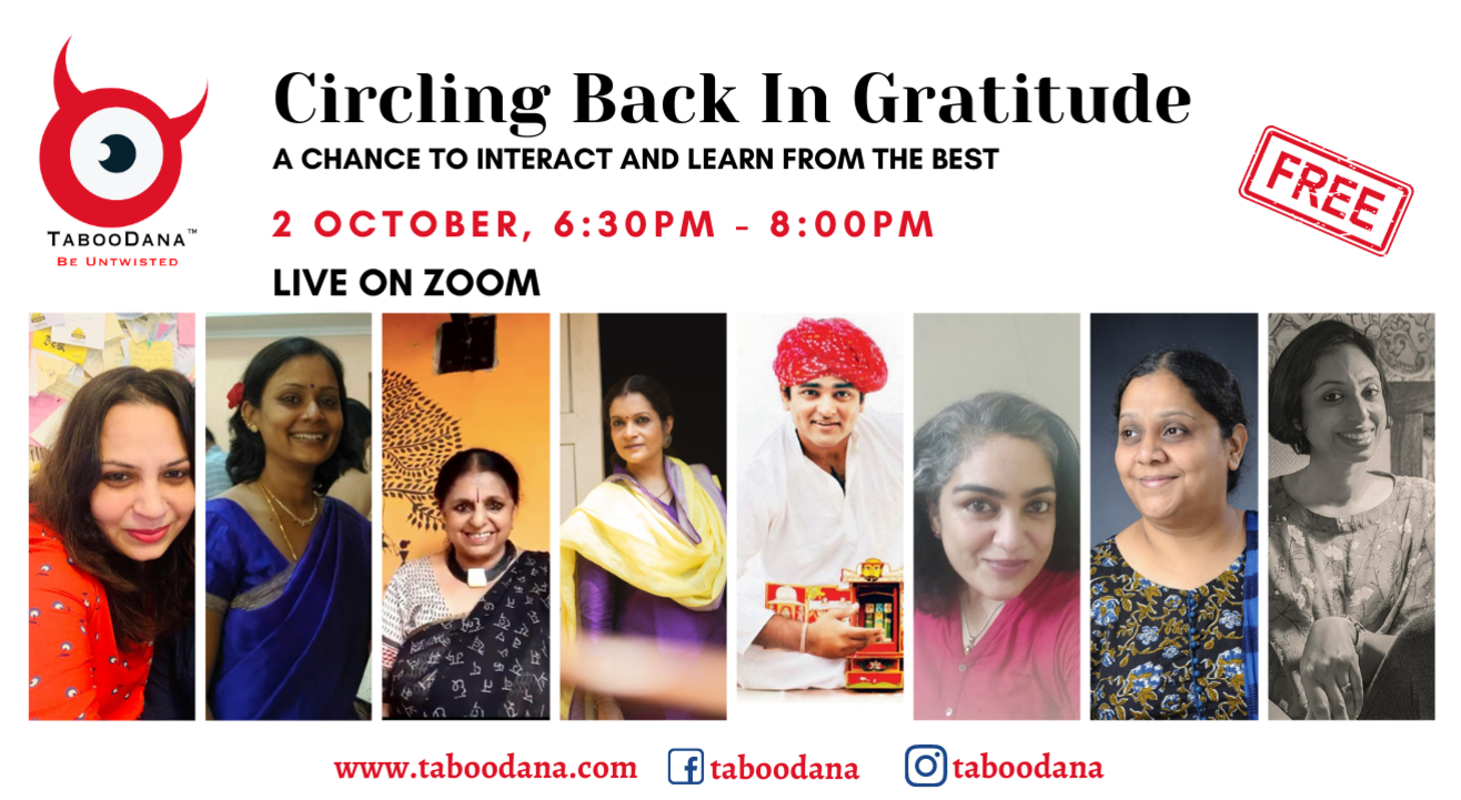 TabooDana's Evening with StoryTellers - Interact and Learn from the Best