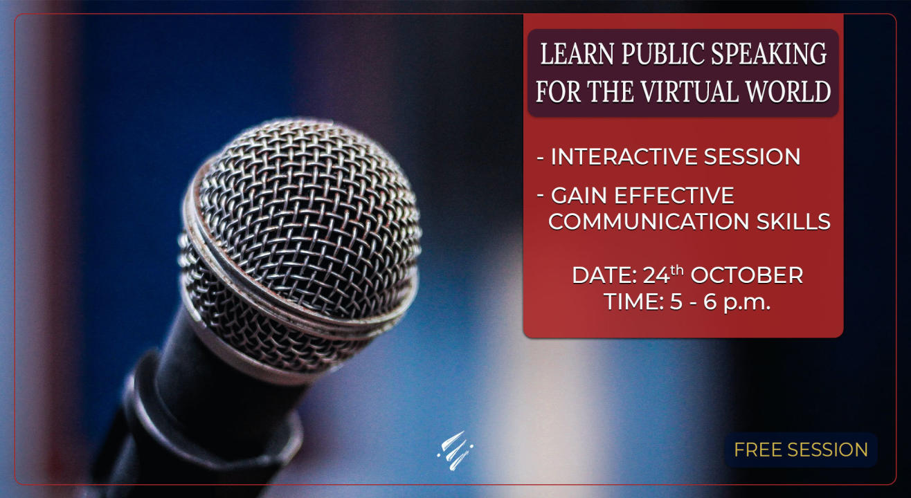 Public Speaking for the Virtual World
