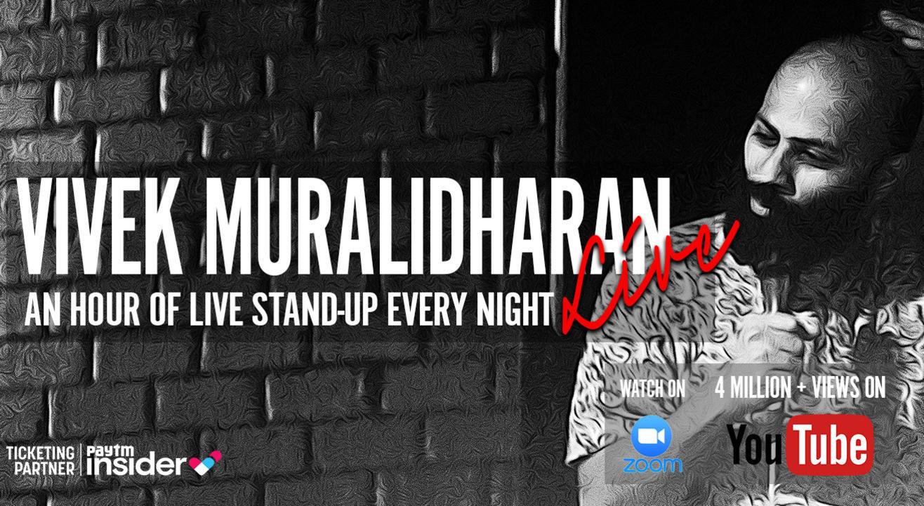 Vivek Muralidharan Live