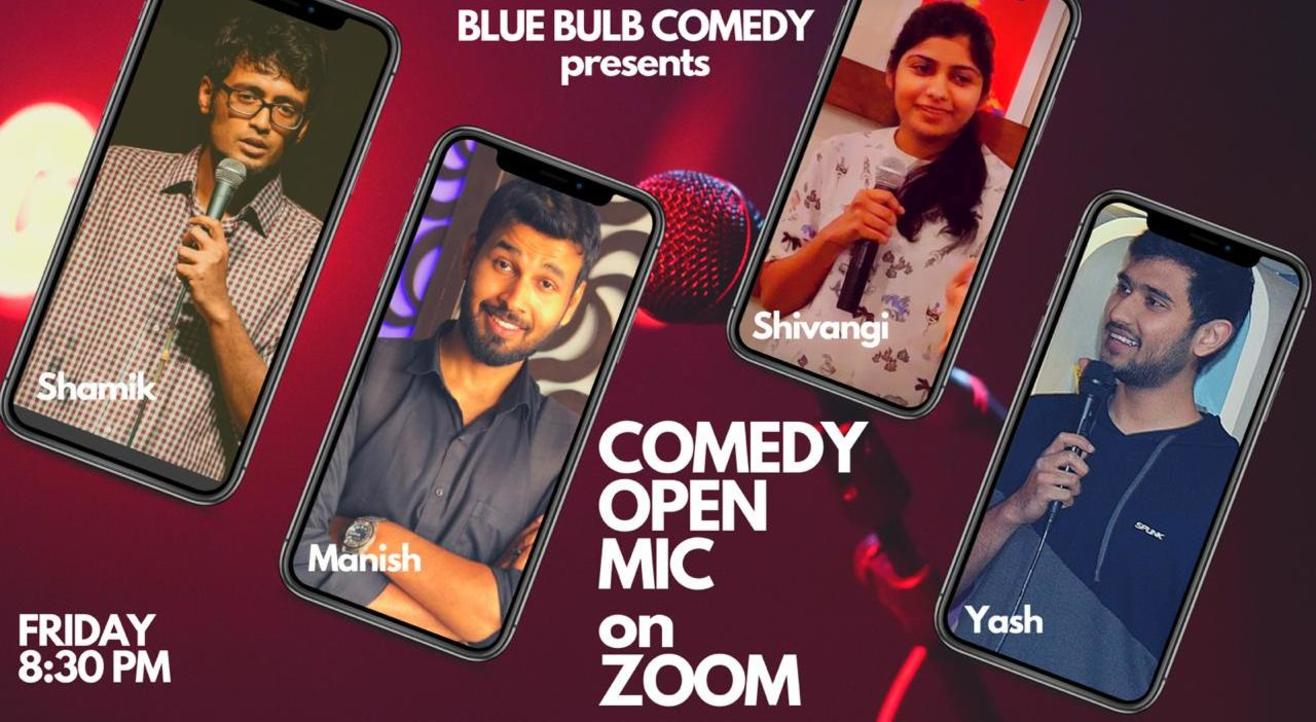 Comedy Open Mic on Zoom