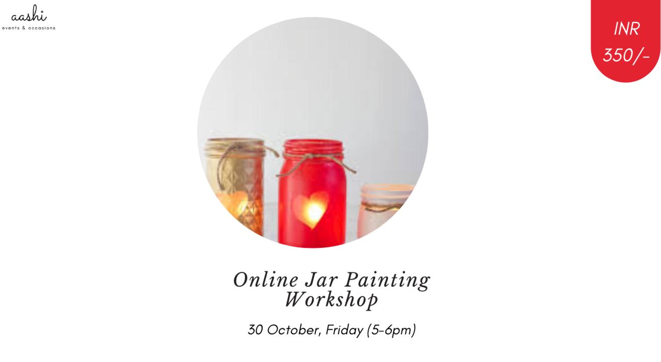Online Jar Painting Workshop