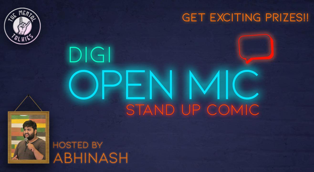 Digi Open Mic-Stand Up Comic
