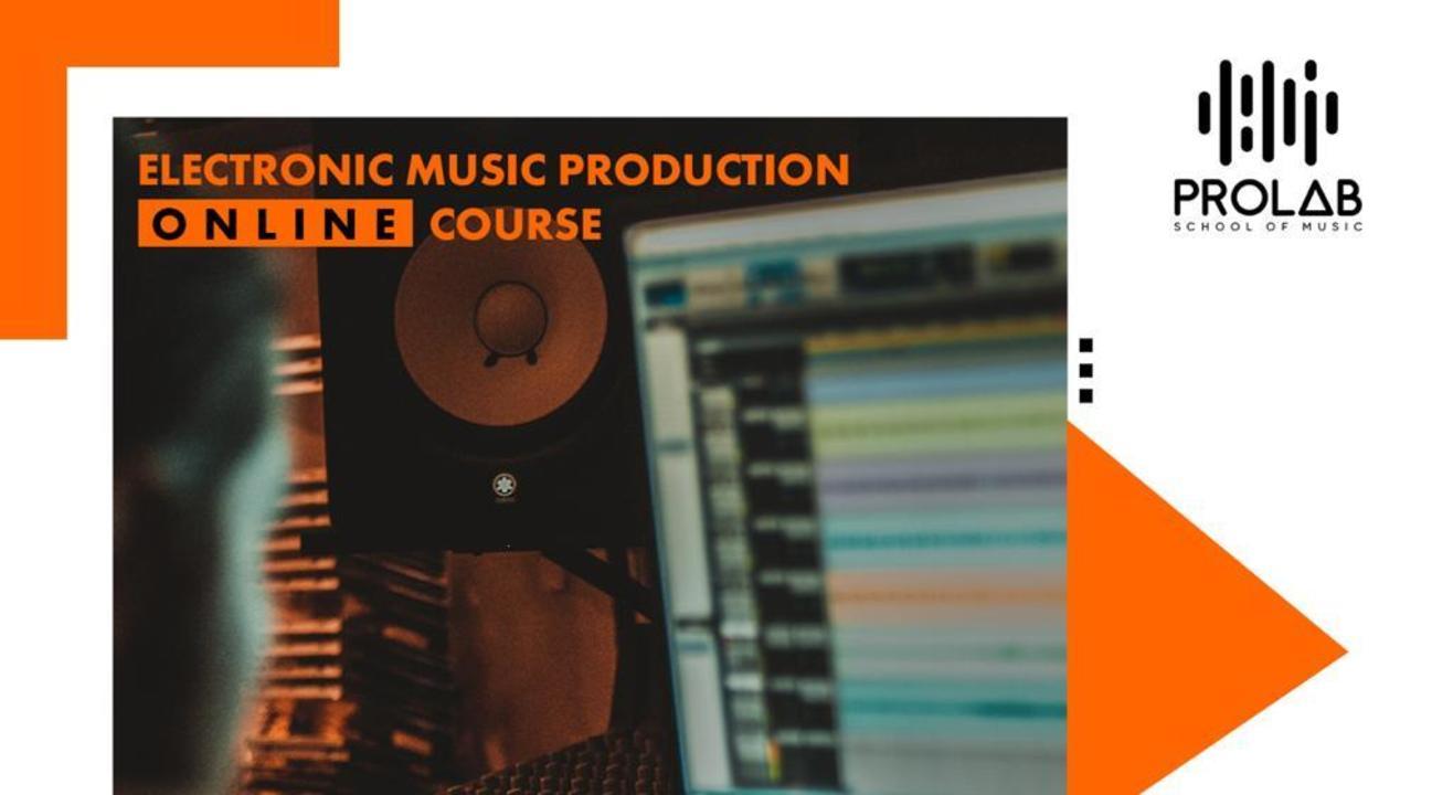 ONLINE MUSIC PRODUCTION COURSE (ABLETON / FL STUDIO)