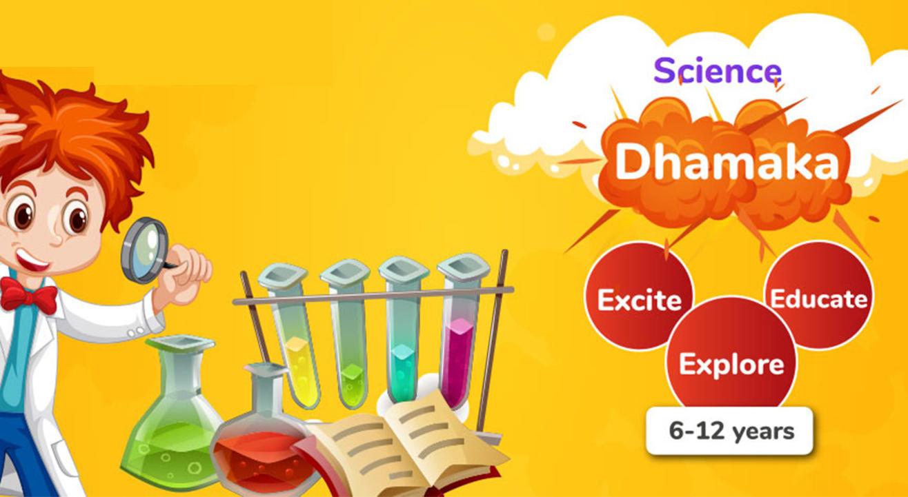 My Playdate Science Dhamaka