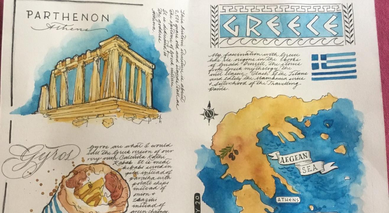 Travel Illustration Postcard Workshop