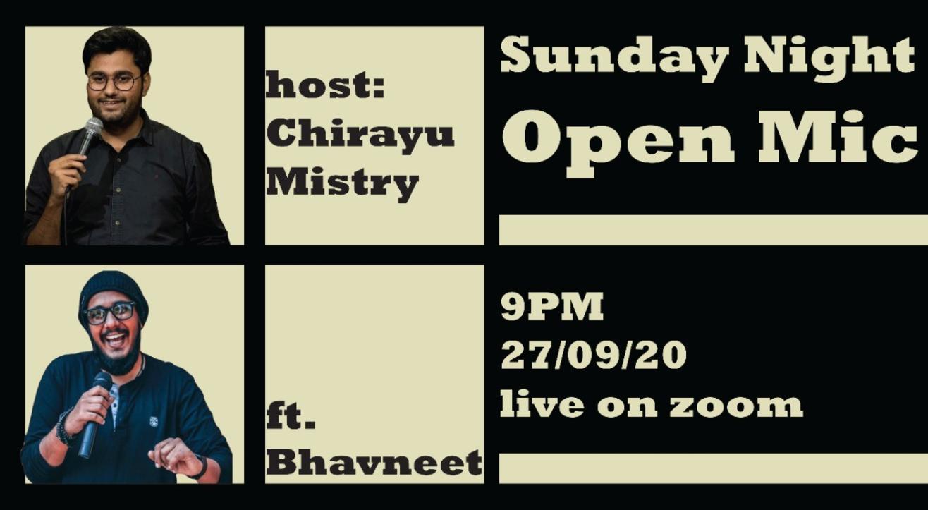 Sunday Night Open mic