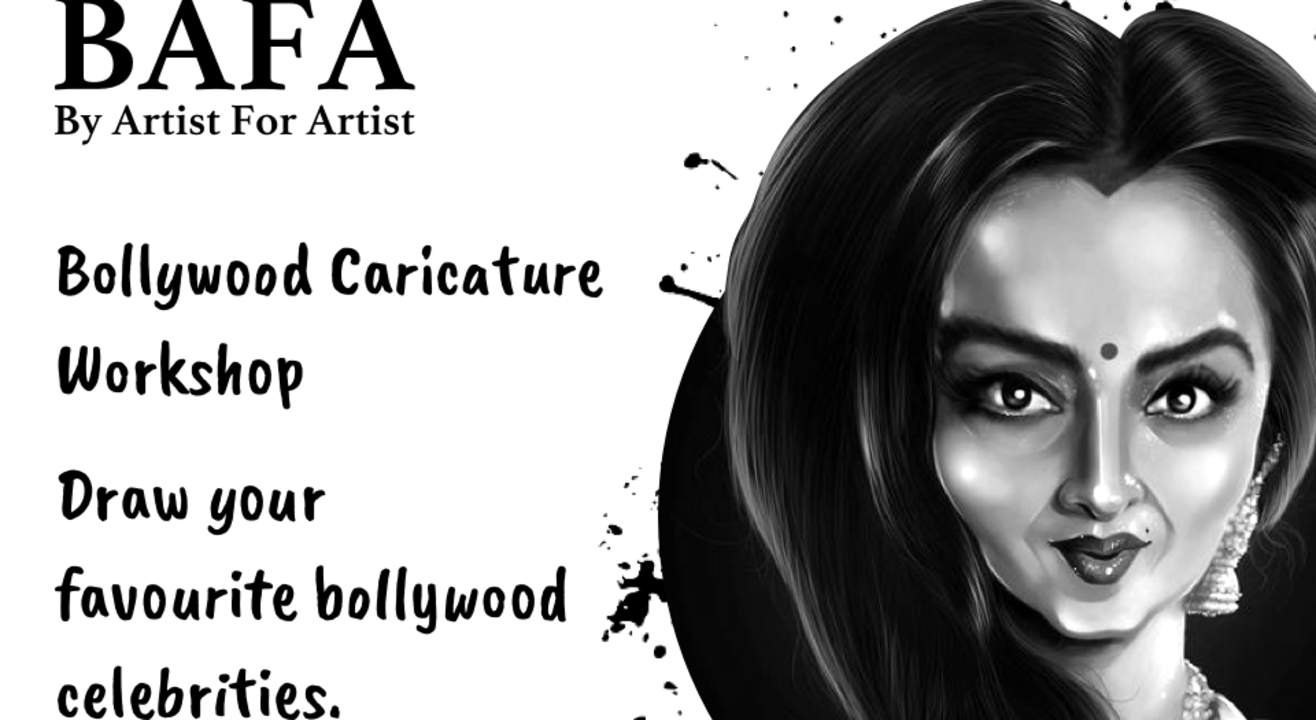 Bollywood Caricature Workshop with BAFA