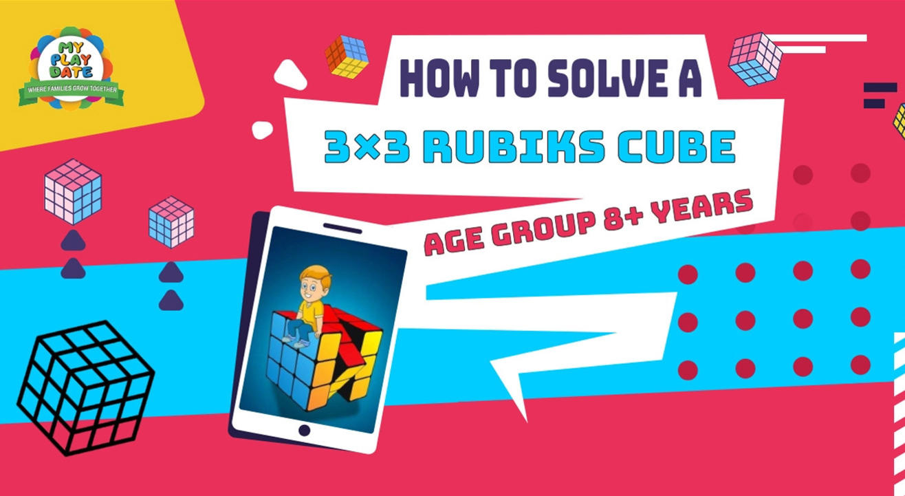 My Playdate: How To Solve A 3×3 Rubik's Cube