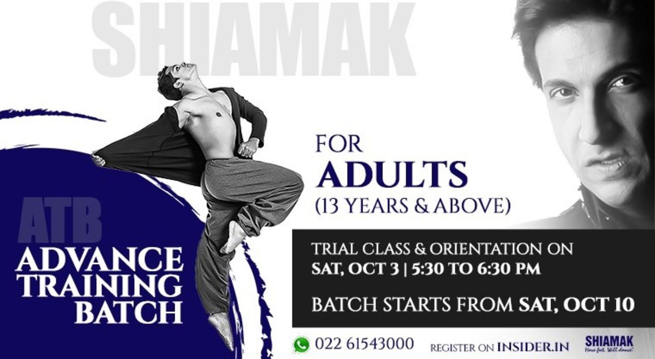SHIAMAK Advanced Training Batch for Adults (13 years & above)
