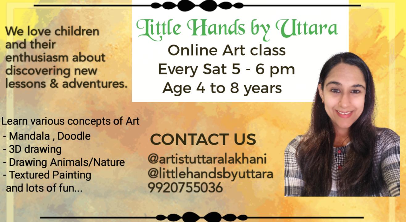 Art class online for kids
