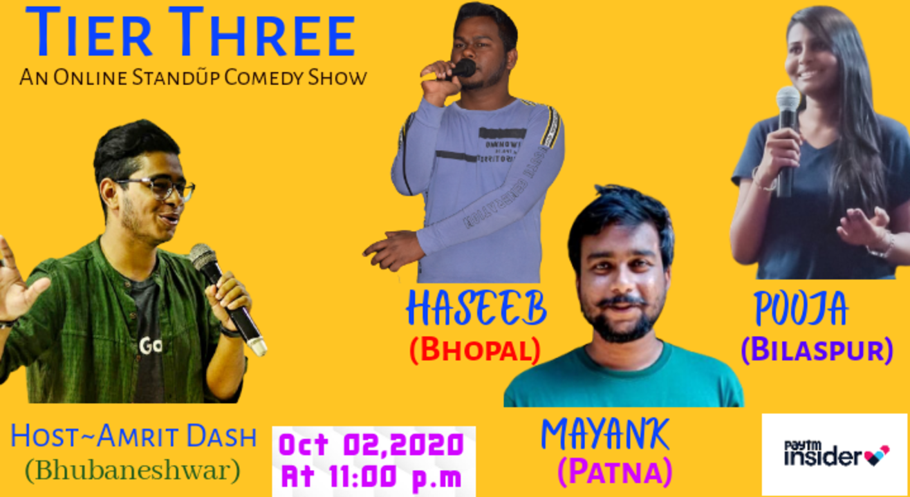 Tier Three~An Online Stand-up Comedy Show