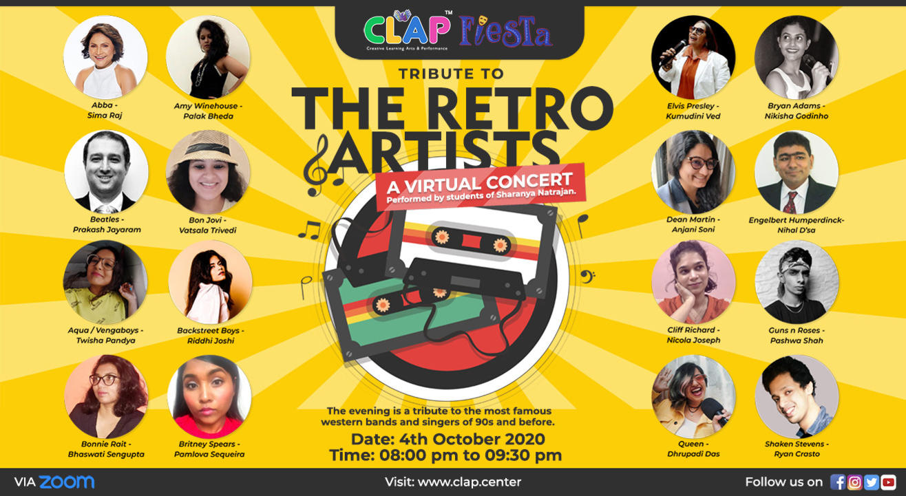 Tribute to the Retro Artists: A Virtual Concert