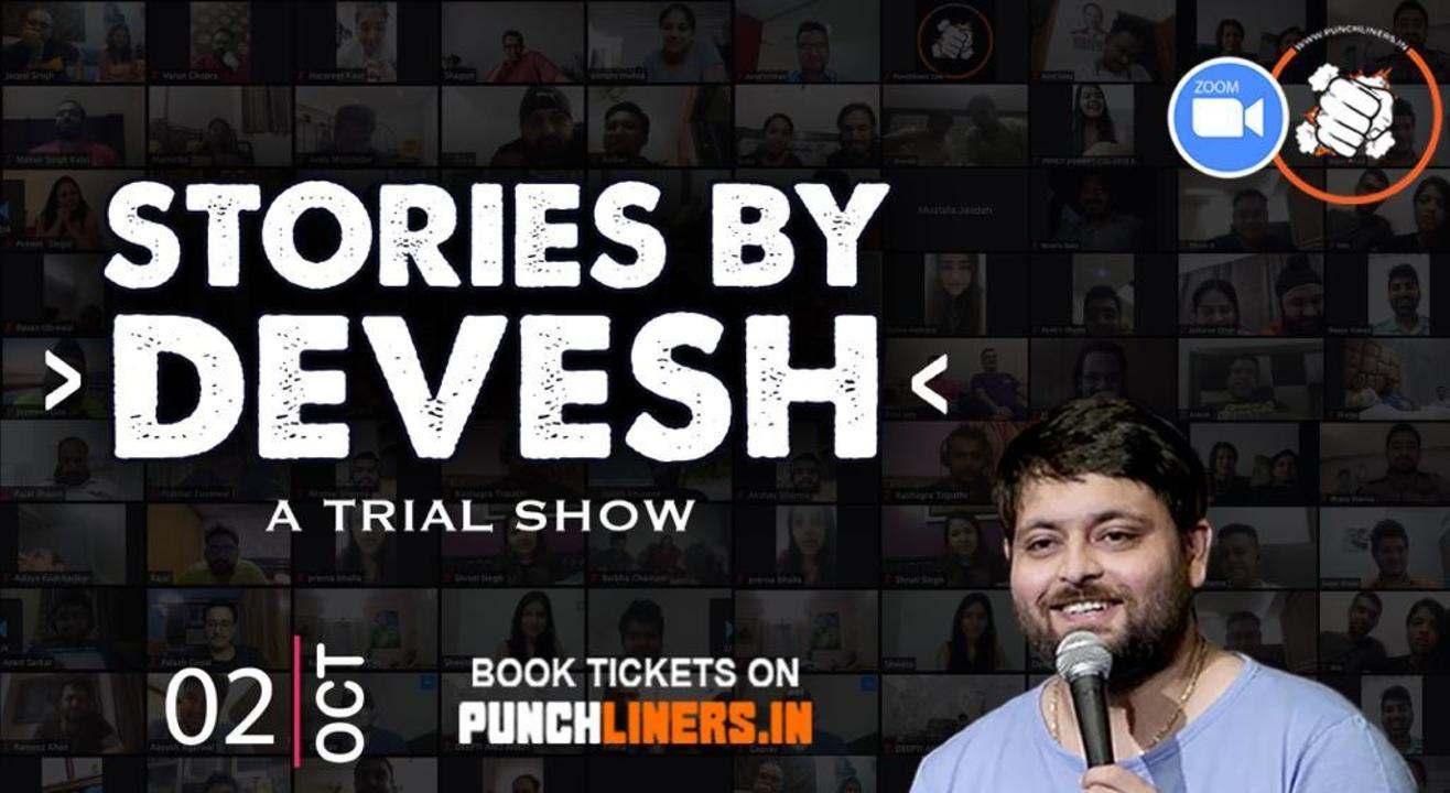 Punchliners Trial Show ft. Devesh Dixit live