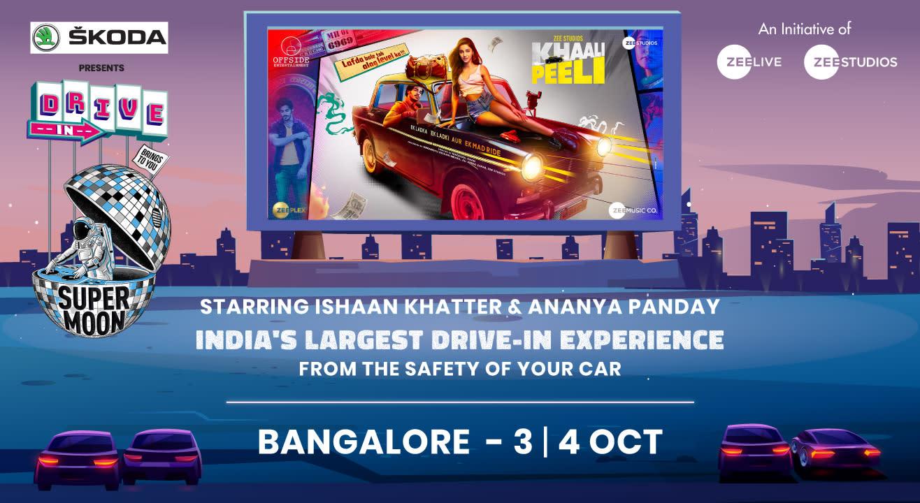 Supermoon Drive-In ft. Khaali Peeli | Bangalore