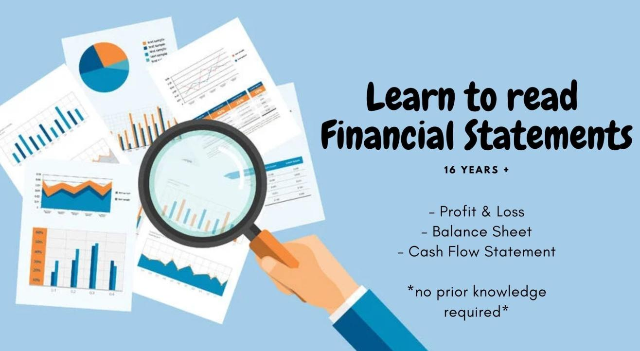 Learn to Read Financial Statements by The Finance Box