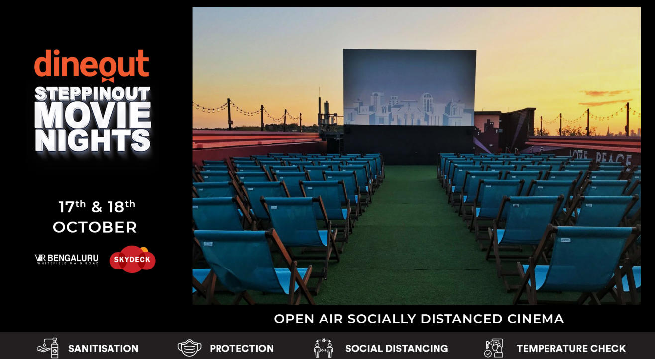 Dineout SteppinOut Movie Nights | Open Air Cinema | Comedy