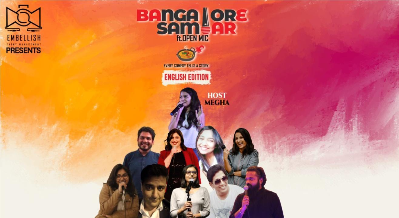 Bangalore sambar ft.ENGLISH OPENMIC   Embellish events