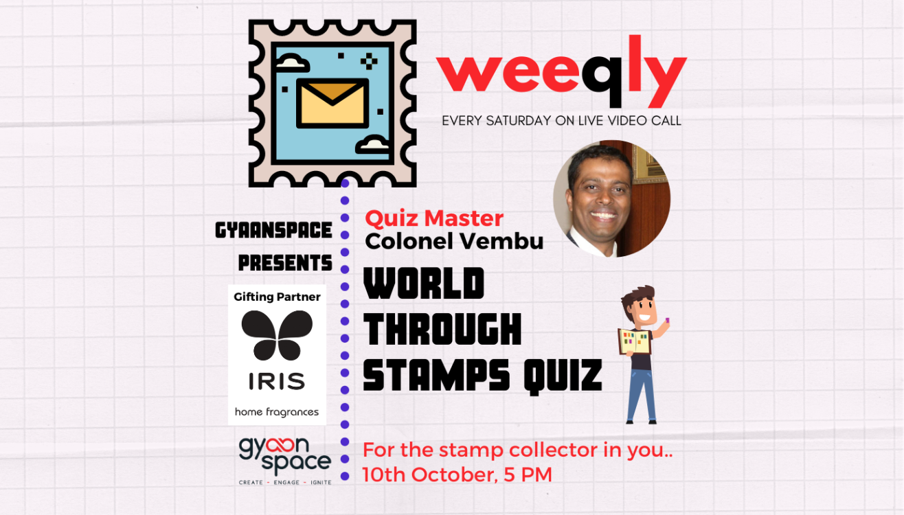 Weeqly- World Through Stamps Quiz by Colonel Vembu