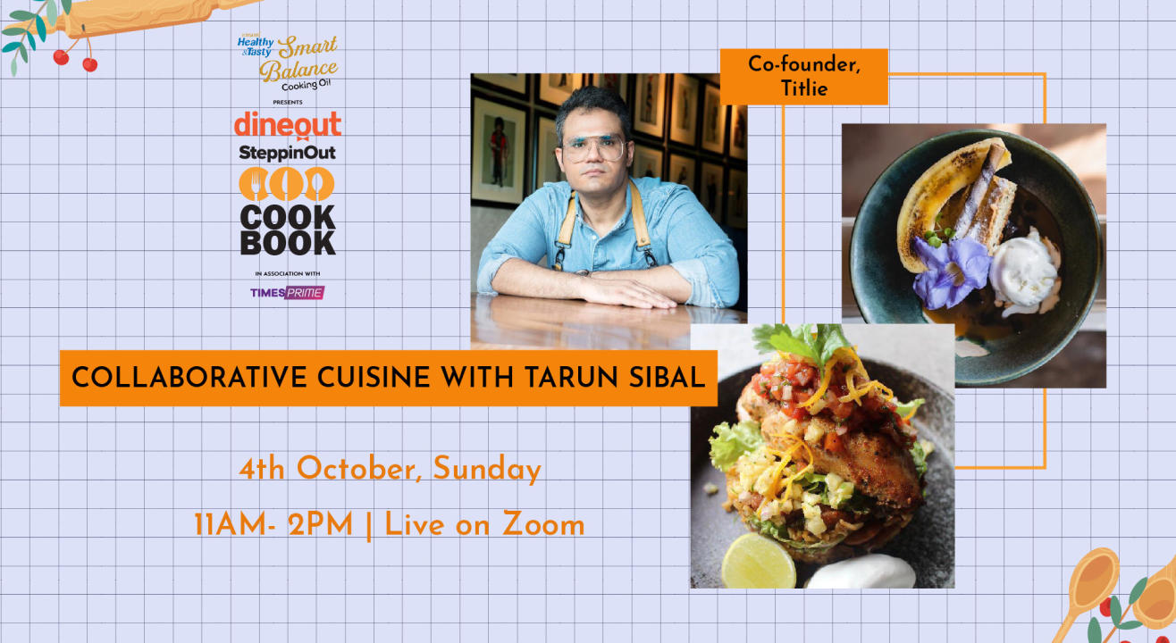 Emami Immunity Booster Oil presents The Dineout SteppinOut Cookbook with Chef Tarun Sibal