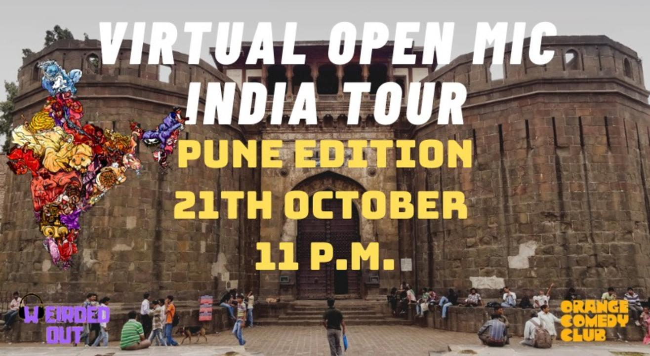 Virtual Open Mic India Tour - Pune Edition