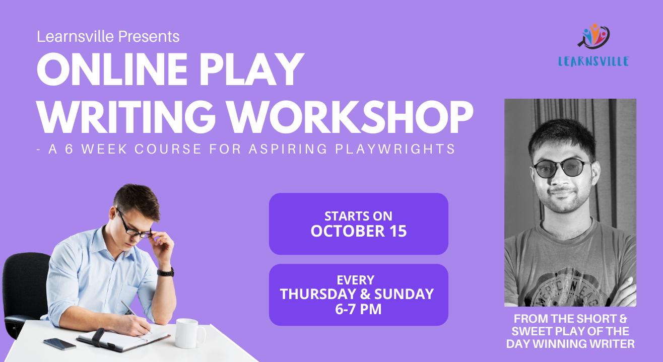 Online Play Writing Workshop