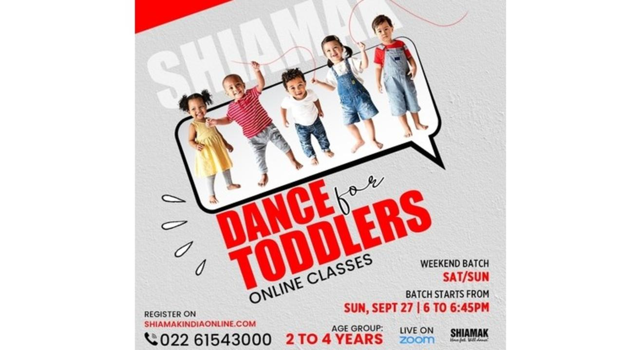 Dance For Toddlers - Online classes for 2 to 4 year olds
