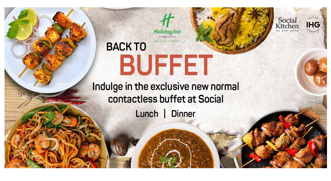 Lunch & Dinner Buffet, Holiday Inn Kolkata Airport