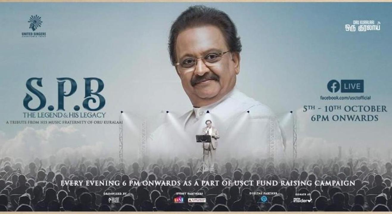 Oru Kuralaai (In One Voice) | #SPBTributeWeek