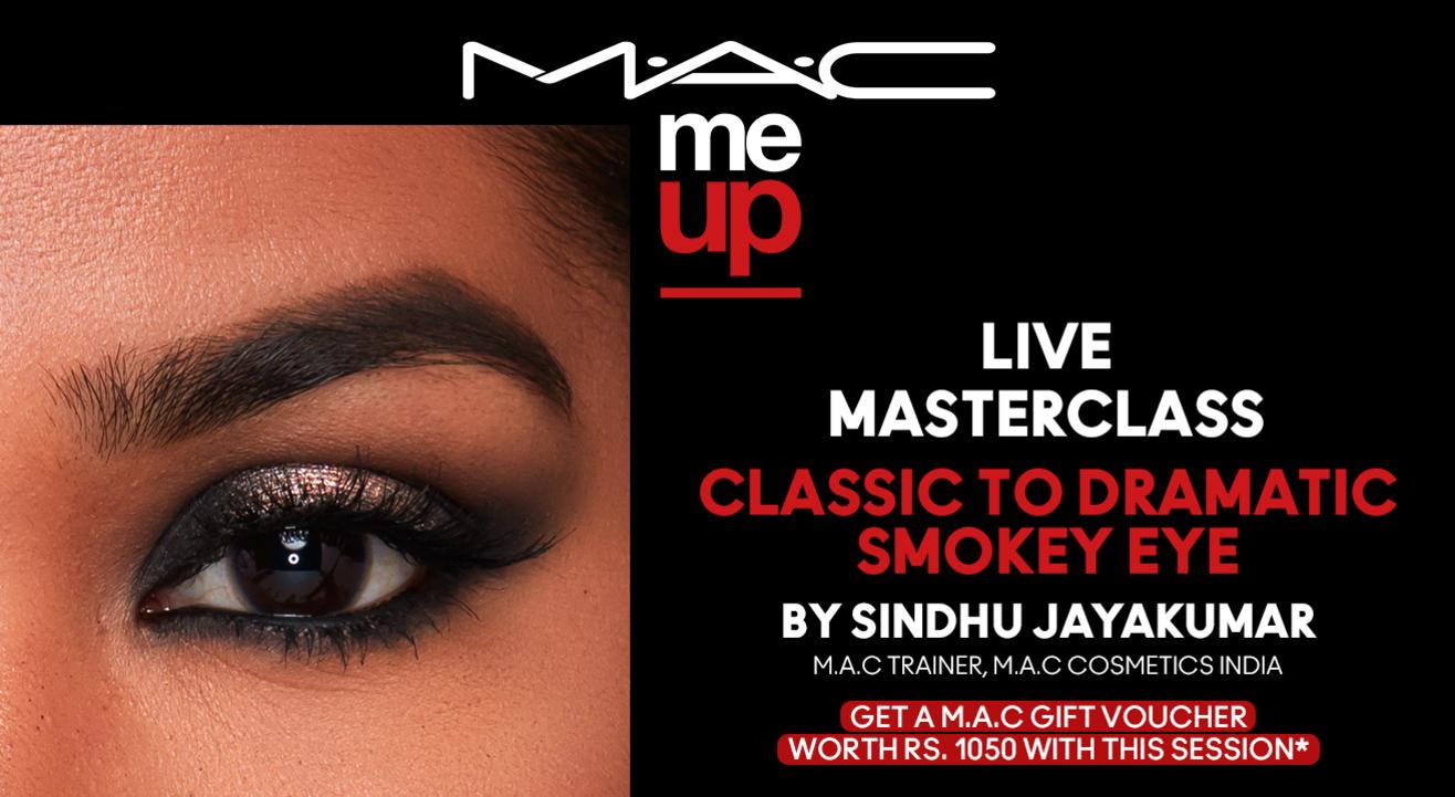 Classic to Dramatic Smoky Eye | M.A.C Cosmetics