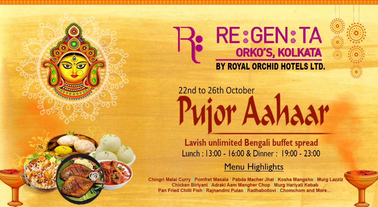 Pujor Aahar at Regenta Orko's