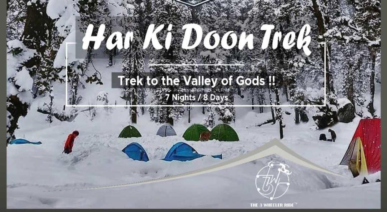 Trek To Har Ki Doon - The 3 Wheeler Ride