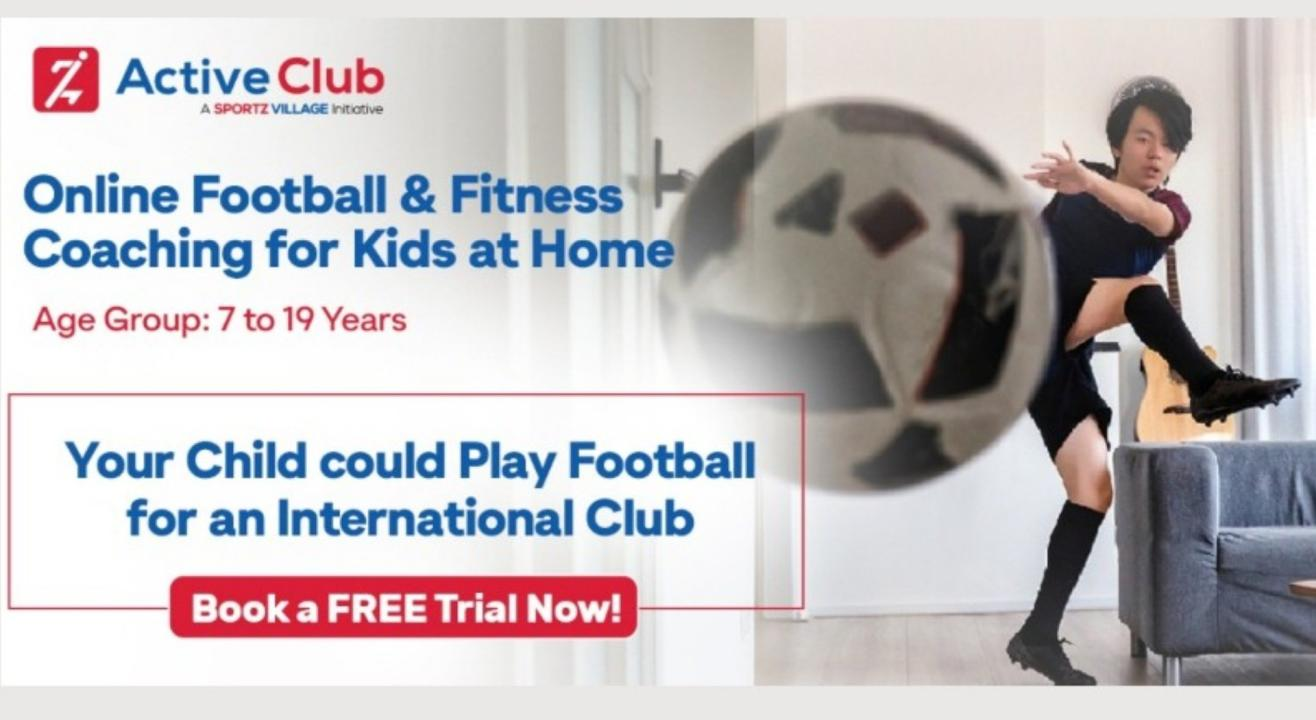 Online Football Coaching for Kids at Home - Active Club Sport