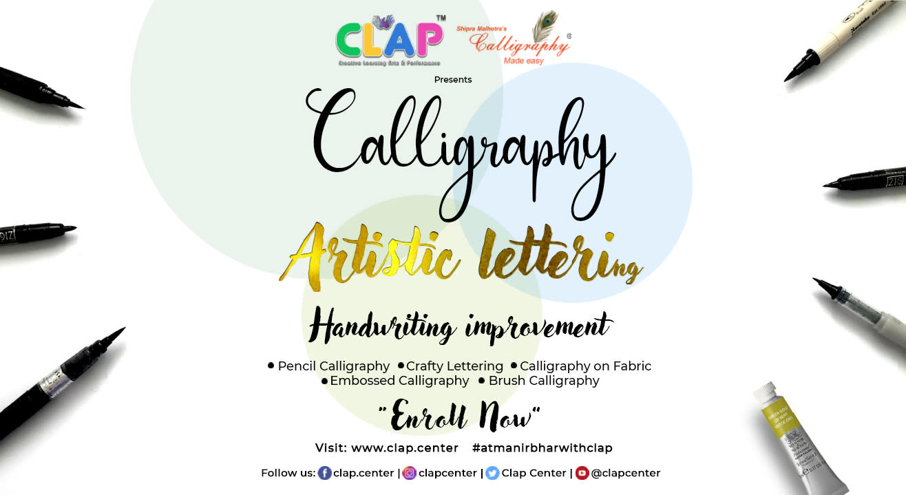 CALLIGRAPHY MADE EASY BY SHIPRA MALHOTRA