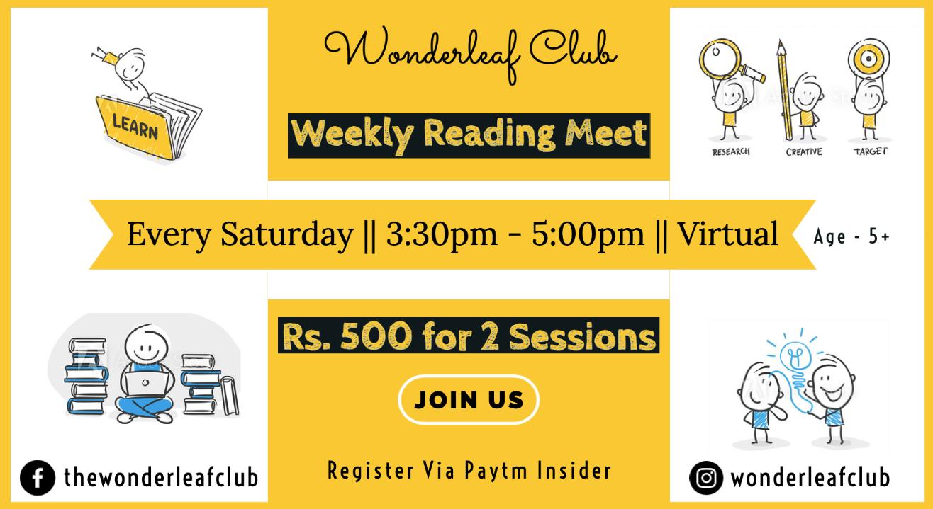 Wondeleaf Club Meet and Read | 3 Saturdays in December | Kid Friendly
