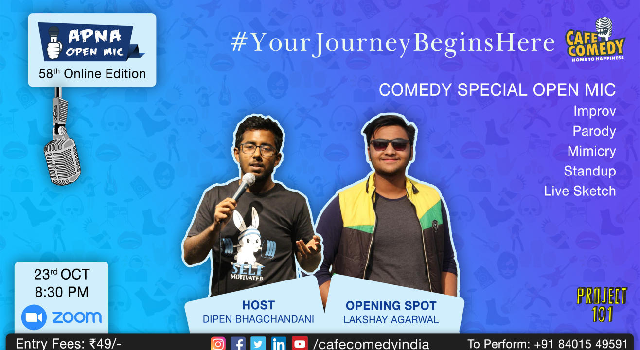 Apna Open Mic (Comedy Special - 58th Online Edition)