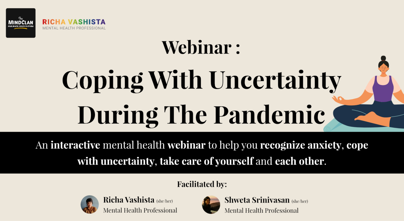 Workshop on Coping With Uncertainty During the Pandemic